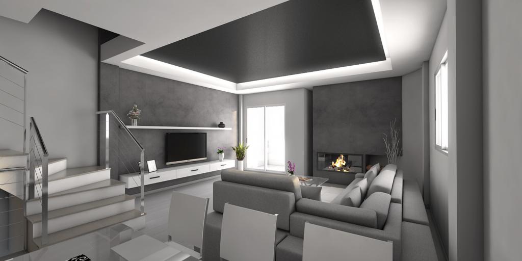 salón vivienda diseño