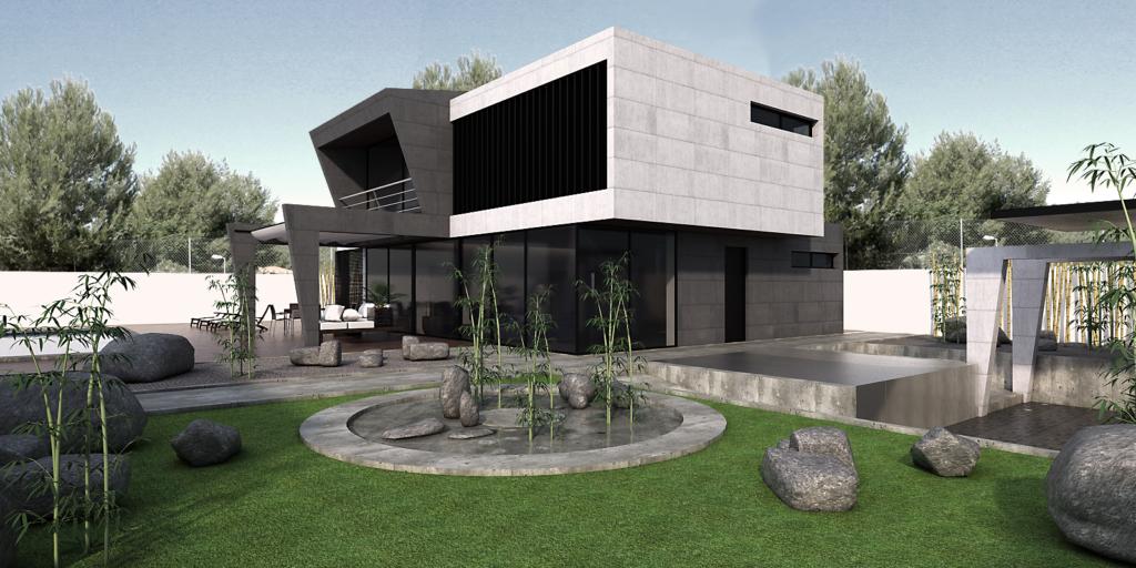 exterior vivenda diseño
