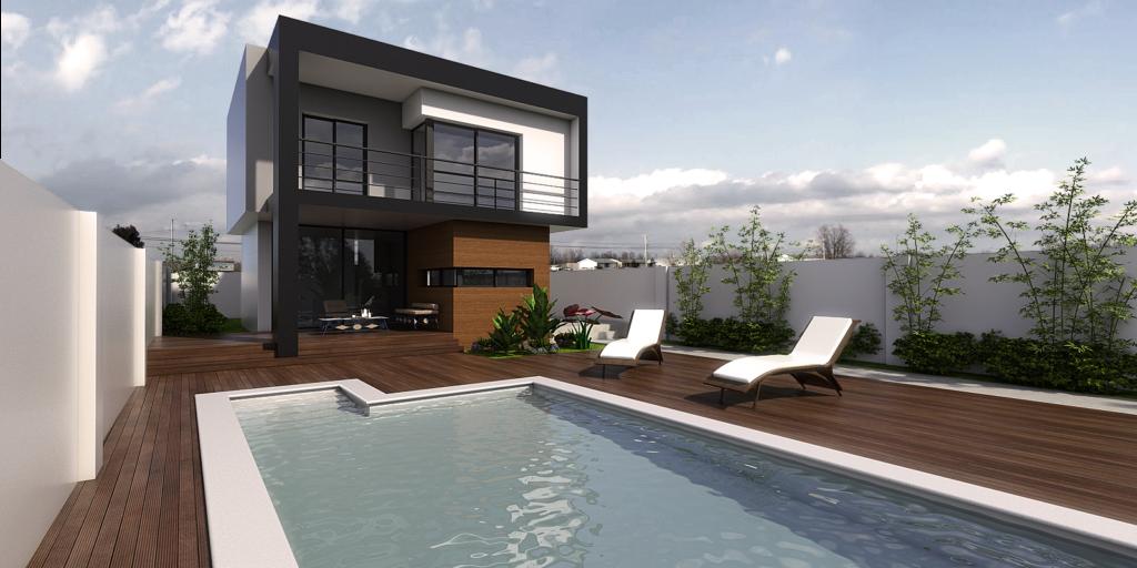 piscina vivienda diseño